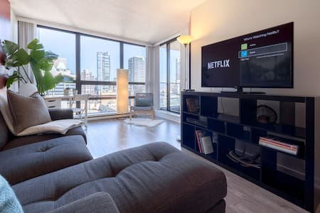Central Downtown Vancouver Condo Parking Netflix - Vancouver