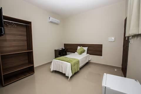 Quarto individual - Recanto Hotel Clube