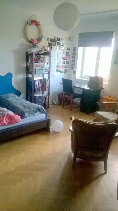 Das Zimmer in der Übersicht