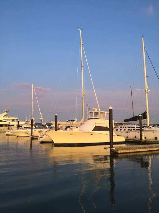 At Greenport Transient Dock