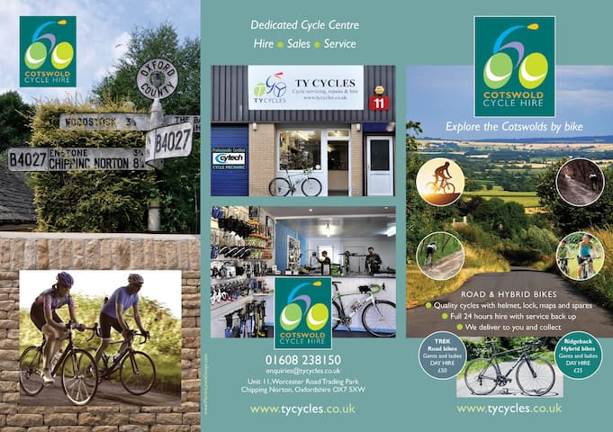 Bicycle Hire details