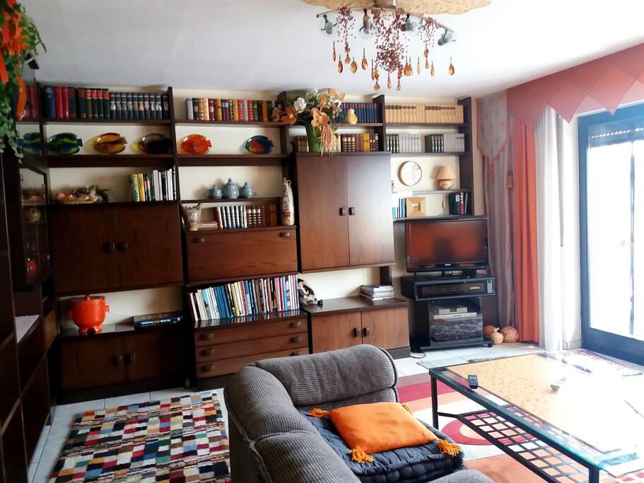 Wohnzimmer - Stellwand