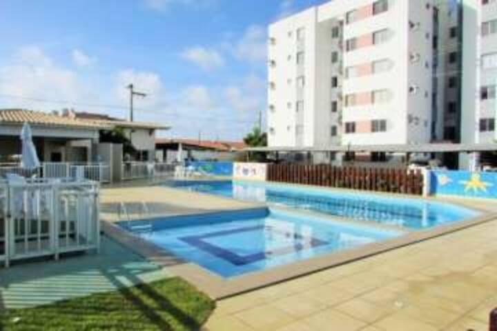 Apto na Aruana - Aracaju  - condominio fechado