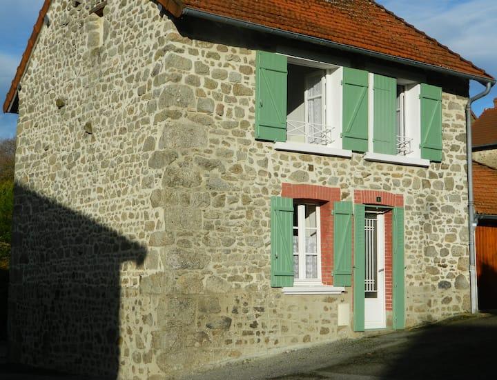 Maison à la campagne creusoise