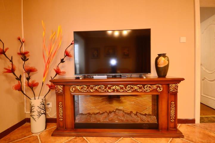 【北美新天地旁】复古奢装欧式套房 - Taiyuan - Apartemen