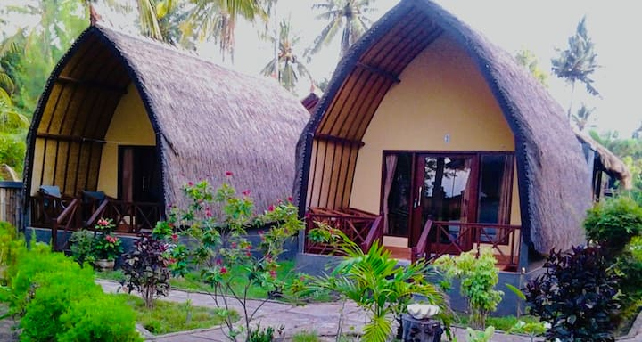 Bollata Beach House Gili Air - Sea View