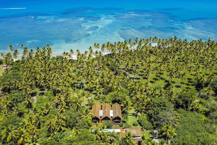 Bah502 - Charming 5 bedroom villa in Boipeba