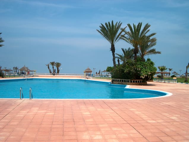 Résidence Palm beach Mohammadia - Ben Slimane - Huoneisto