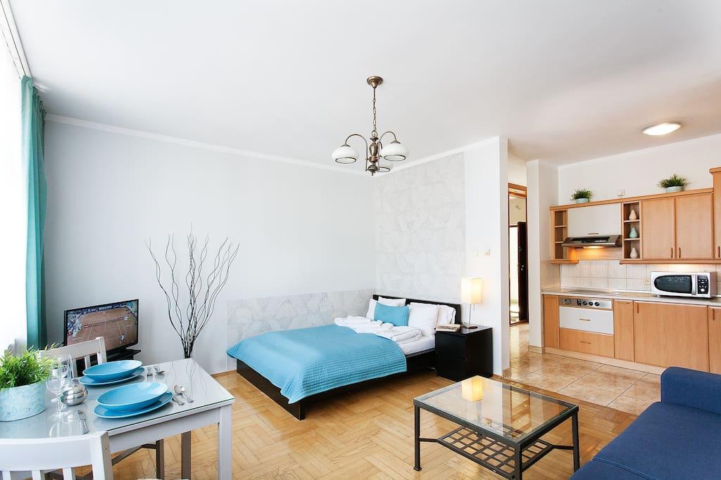 Livingroom/Badroom