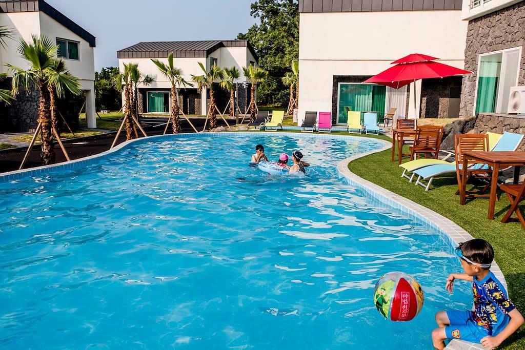 풀 빌라 소랑 - 조천읍의 부티크 호텔에서 살아보기, 제주도, 한국