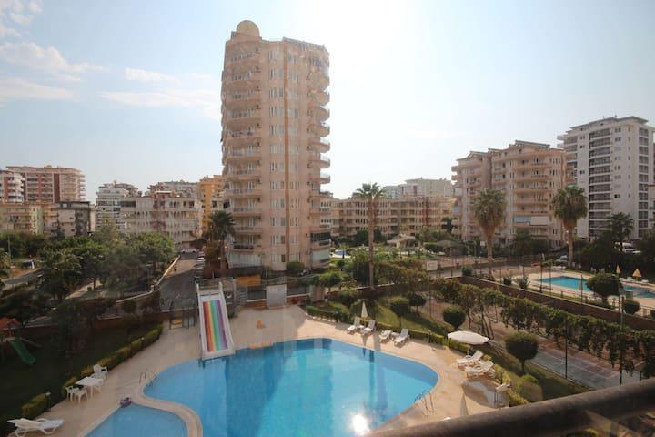 Ferienwohnung 300m vom Strand, Alanya Mahmutlar