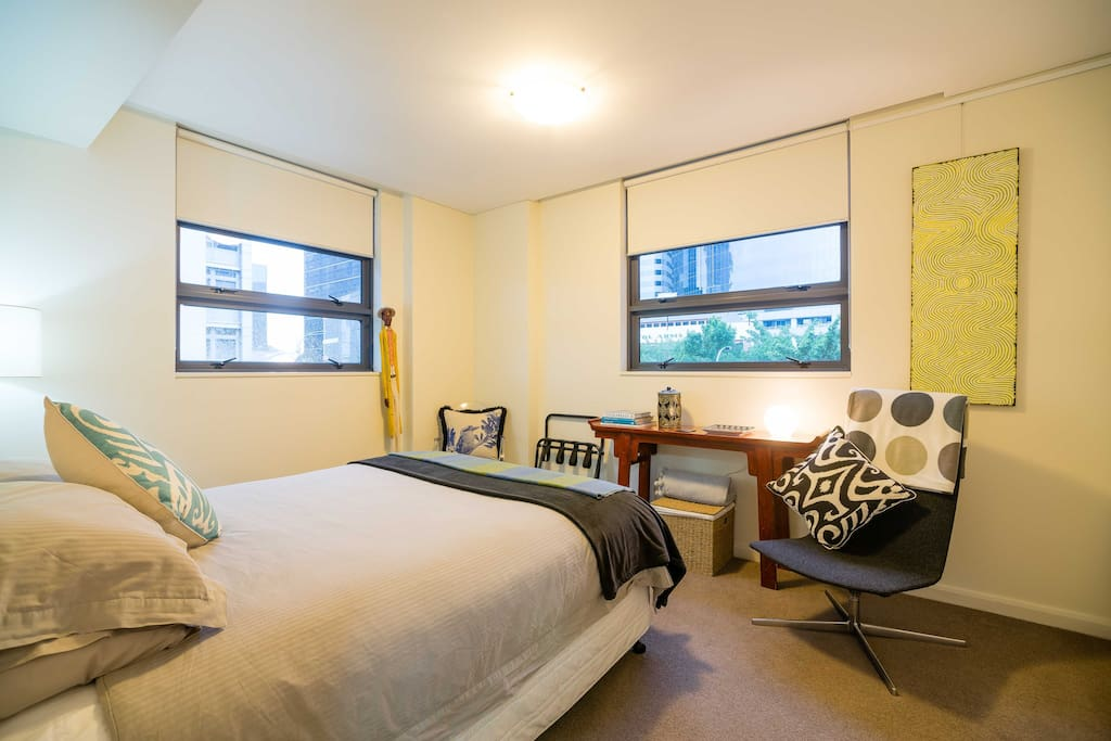 Tastefully decorated and scrupulously clean - fresh linen, generous wardrobe and drawers for your clothes, hangers provided.