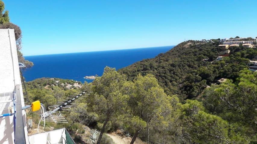 Apart.con vistas al mar - Begur