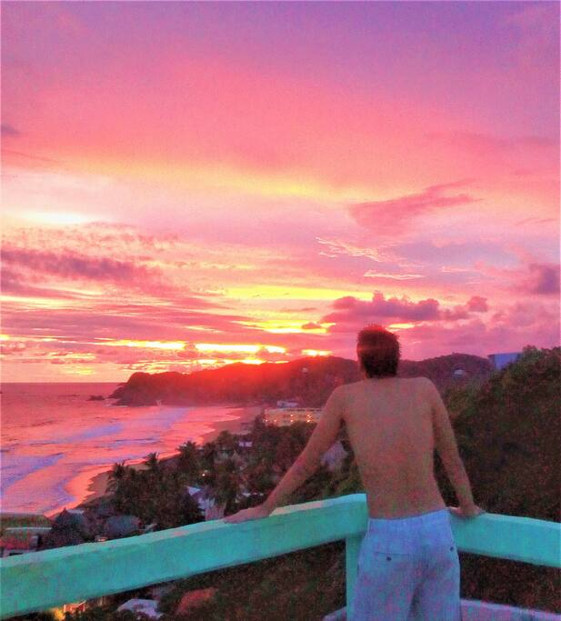 best sunset views right on your balcony