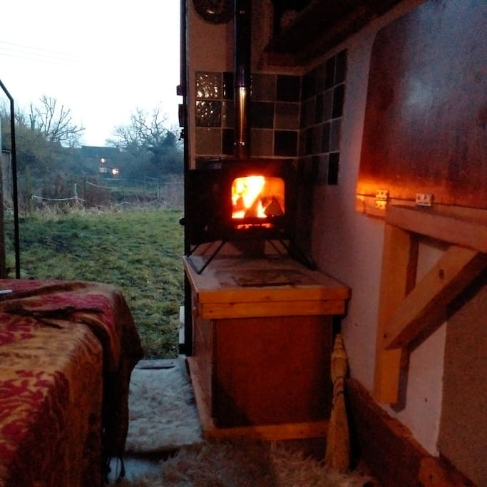 Our 'amazing' Log Burning Stove