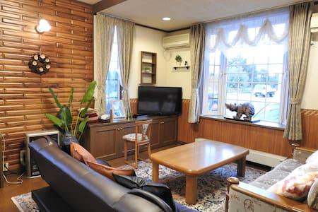 7人まで宿泊可能!!旭川の大きなロッジ風のゲストハウス