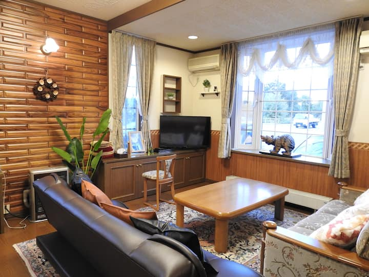 ASAHIKAWA BIG LODGE 7 PEOPLE★FREE CAR SPACE!