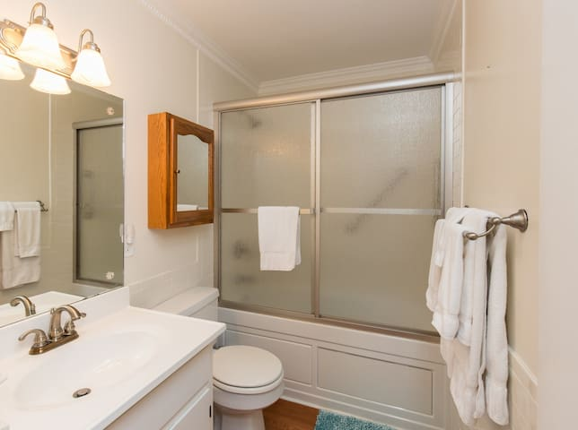 Main Level Full Bathroom