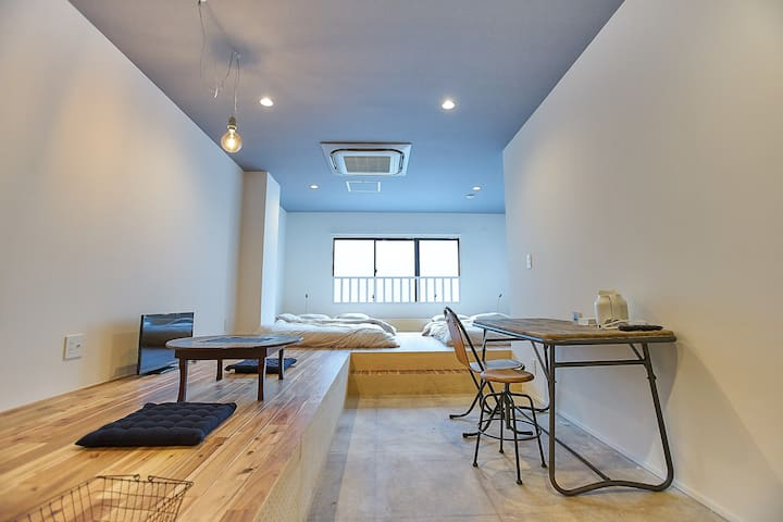 [7PAX]JR8mins walk/convenience store/WiFi