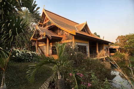 Jungle House  (dinner/b&b) - Vientiane - Casa