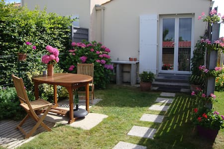 Maison/JARDIN/vélos/wifi/Tv/mer à PIED - Bretignolles-sur-Mer - Huis