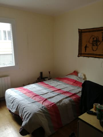 private bedroom - Lyon - Apartament