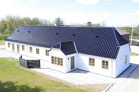 Beautiful farm house close to Vesterhavet - Ulfborg - Casa