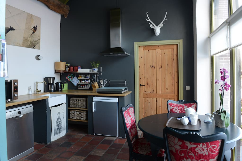 Cosy, fully equipped kitchen