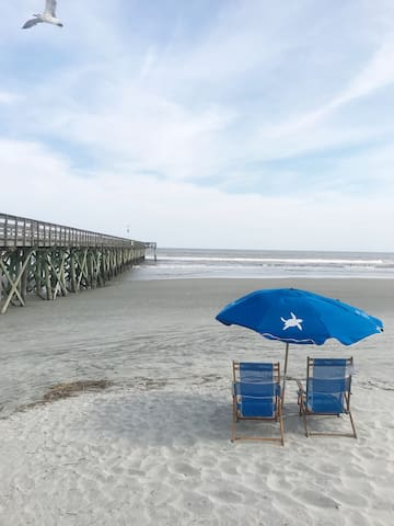Ocean View Condo in the Heart of the Isle of Palms