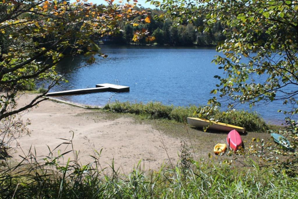 private lakefront