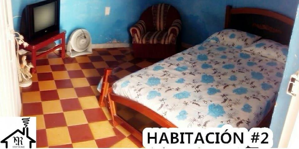 HABITACIÓN CON 1 CAMA COMODA - Guadalajara de Buga, Valle del Cauca, CO - Dom