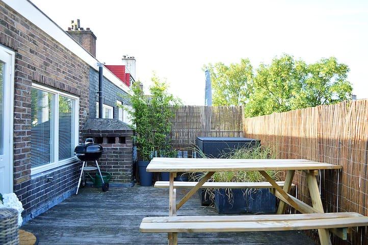 Spacious apartment near the Amsterdam Rai