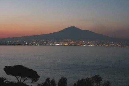 Casa con vista mare - Etna a Costa Saracena