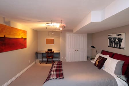 Spacious room in a great location
