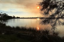 Beautiful Canning River near the house