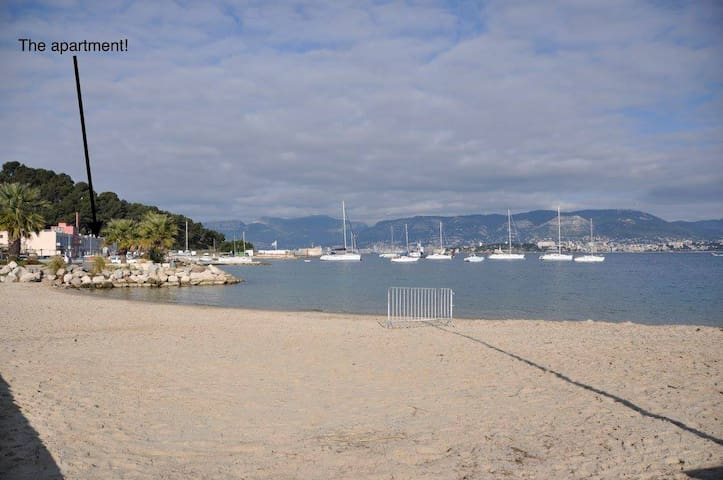 Cozy beach front apartment (Weekly discount) - Saint-Mandrier-sur-Mer - Apartment