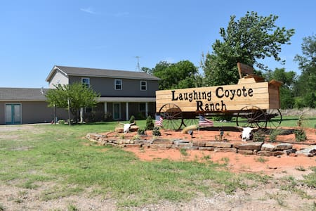 Single Bedroom #2 at the Laughing Coyote Lodge