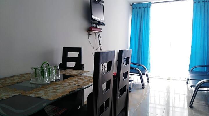 Extraordinario y confortable apartamento