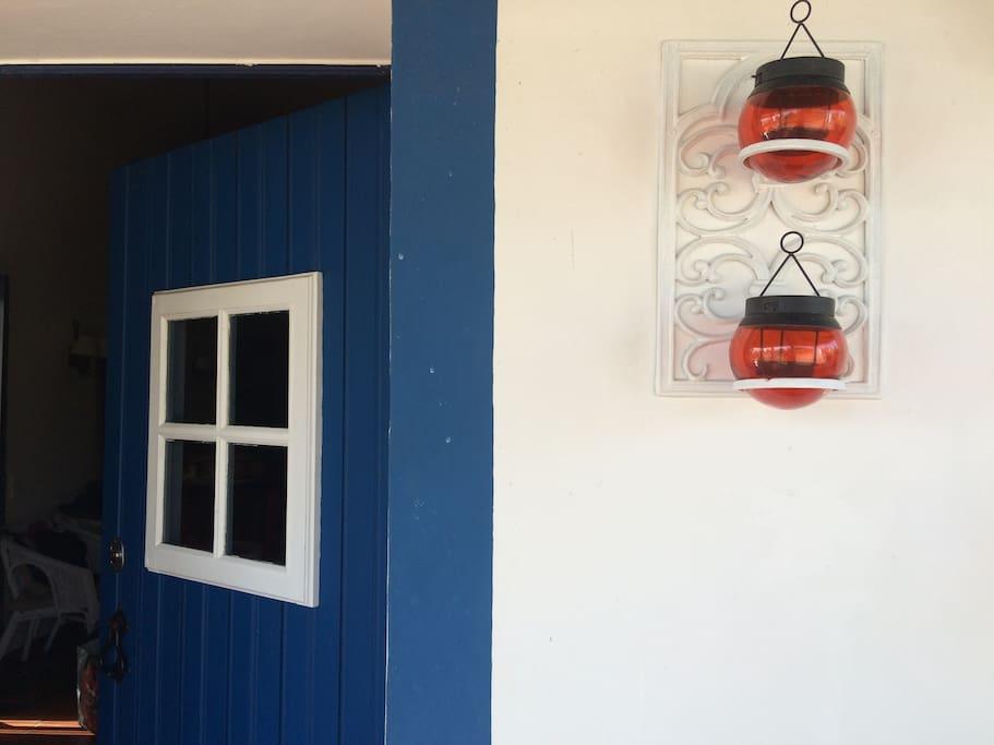 Pormenor entrada principal da casa