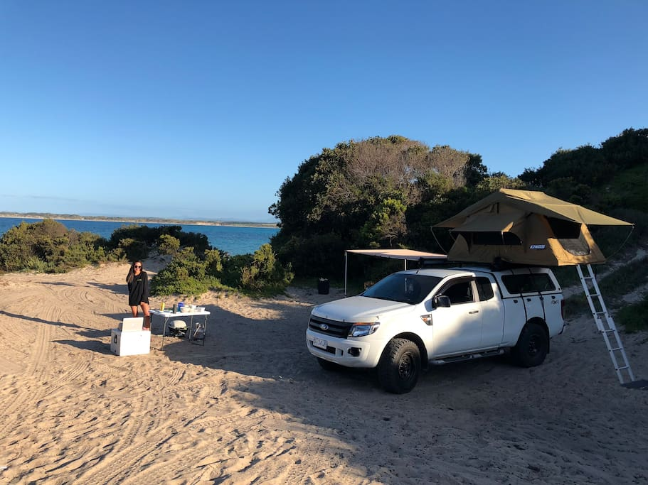 Private Camping Spot - 1 hour from Launceston