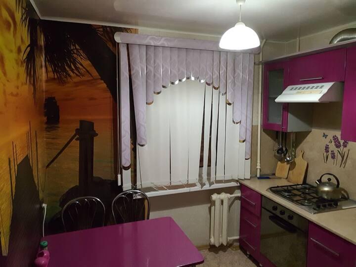 2-ух комнатная уютная  квартира