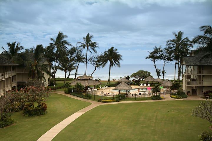 Kauai Top Floor Ocean View Condo #305