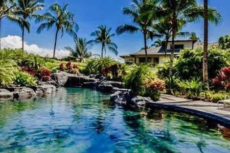 Fabulous Mauna Lani Beach and Golf Villa