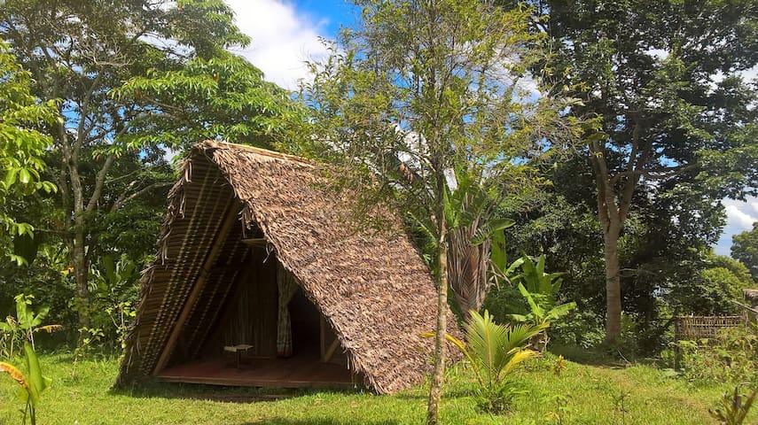 Eco-gîte AKIBA, le bungalow.