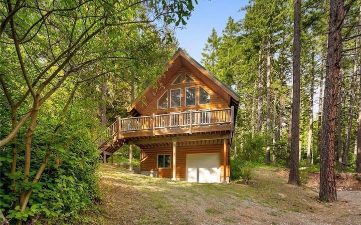 Cabin near Lake Cle Elum. 2BR + Loft Ronald Roslyn