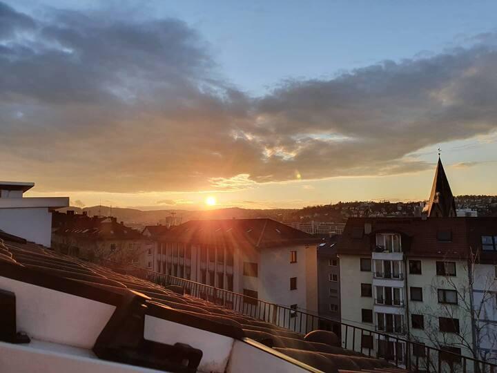 Mitten in Stuttgart - Top Lage - super Aussicht