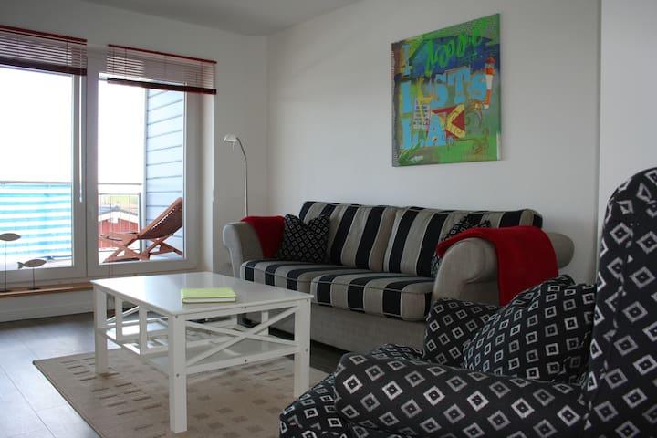 Apartment für 2 mit Nordseeblick - Dagebüll - Appartement