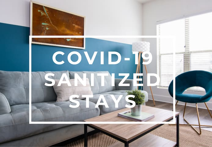 Sanitized Relax from your Modern Apt