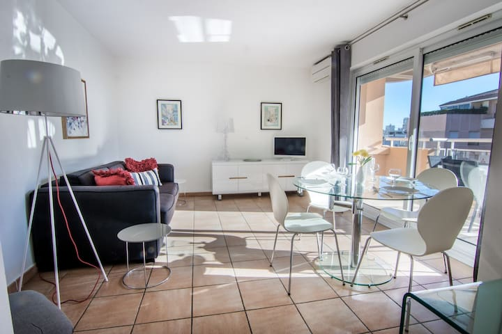 Cannes Palm Beach Apartment - Cannes - Huoneisto