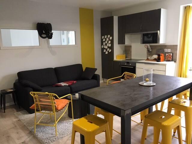 Joli 3 pièces quartier Canclaux-Mellinet - Nantes - Huoneisto